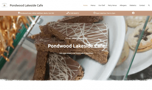 Pondwood Lakeside Cafe